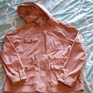American Rag Pink Utility Jacket  - XL